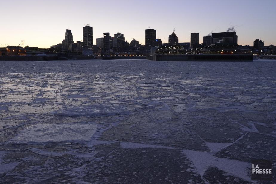 L'hiver dernier a connu des températures froides près... (Photo Bernard Brault, archives La Presse)