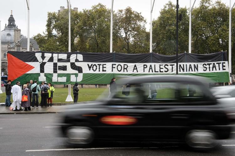 Une reconnaissance, même symbolique, d'un État palestinien par... (Photo: AFP)