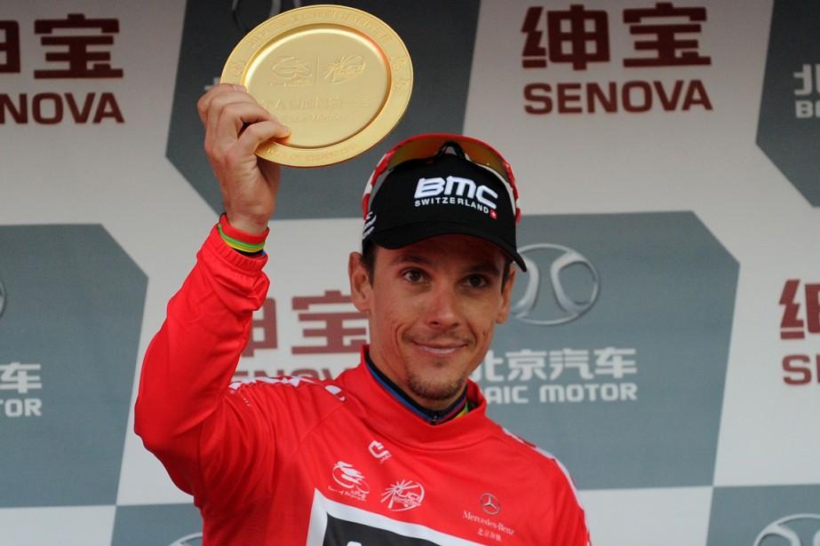 Philippe Gilbert... (Photo Wang Zhao, AFP)