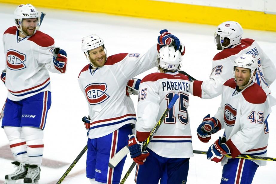 Le Canadien a déjà six précieux points de... (Photo Eric Hartline, USA Today Sports)