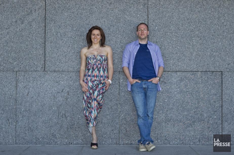 Joanie et Michaël préfèrent être vraiment ensemble, voir... (PHOTO HUGO-SÉBASTIEN AUBERT, LA PRESSE)