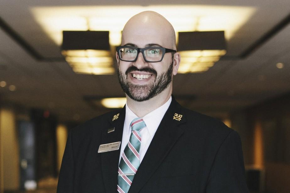 Andrew Van Der Hoeven, chef concierge au Westin... (PHOTO FOURNIE PAR WESTIN OTTAWA)