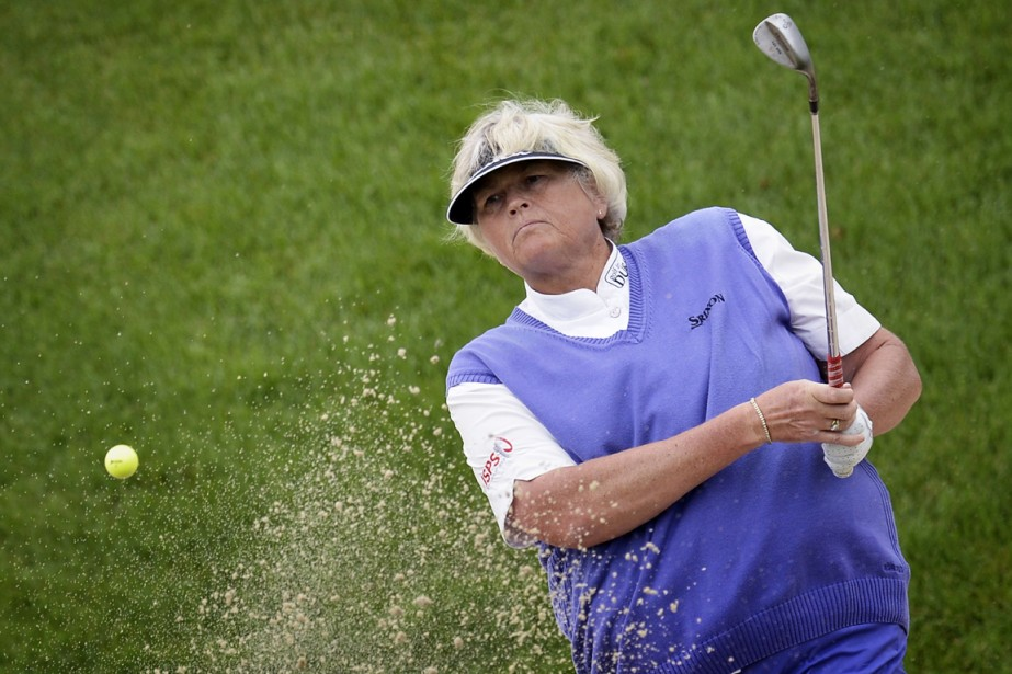 Laura Davies... (Photo Jeff Pachoud, AFP)