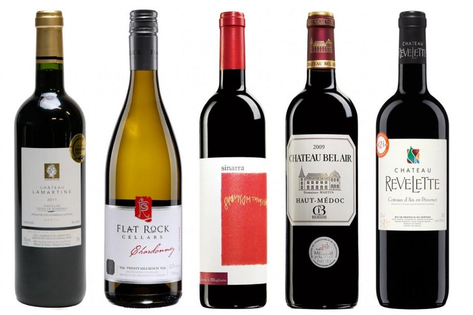 Le vin est professeur d'humilité, dit-on... Que... (Photos fournies par la SAQ)