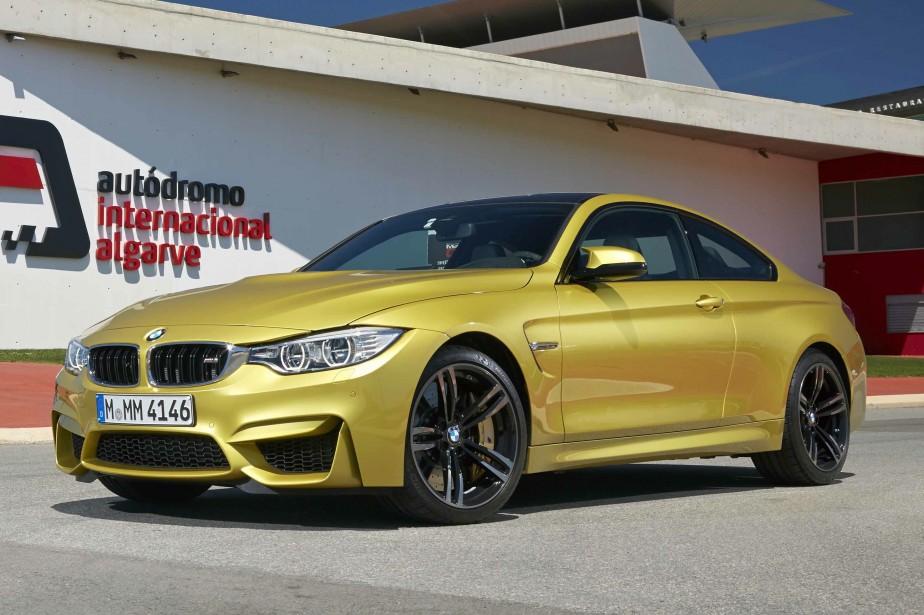 BMW M4 Coupé etCabriolet - À partir de 75 000 $ - Les modèles coupé et cabriolet de la Série 4 qui retiennent les services de la même motorisation que la berline M3. (Photo BMW)