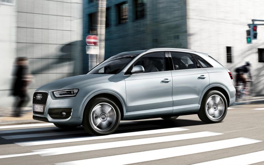 Audi Q3 - À partir de 35 800 $ - Mû par un moteur 2,0 litres et jumelé à une transmission à six rapports, le Q3 est livré avec la traction ou la traction intégrale. (Photo Audi)