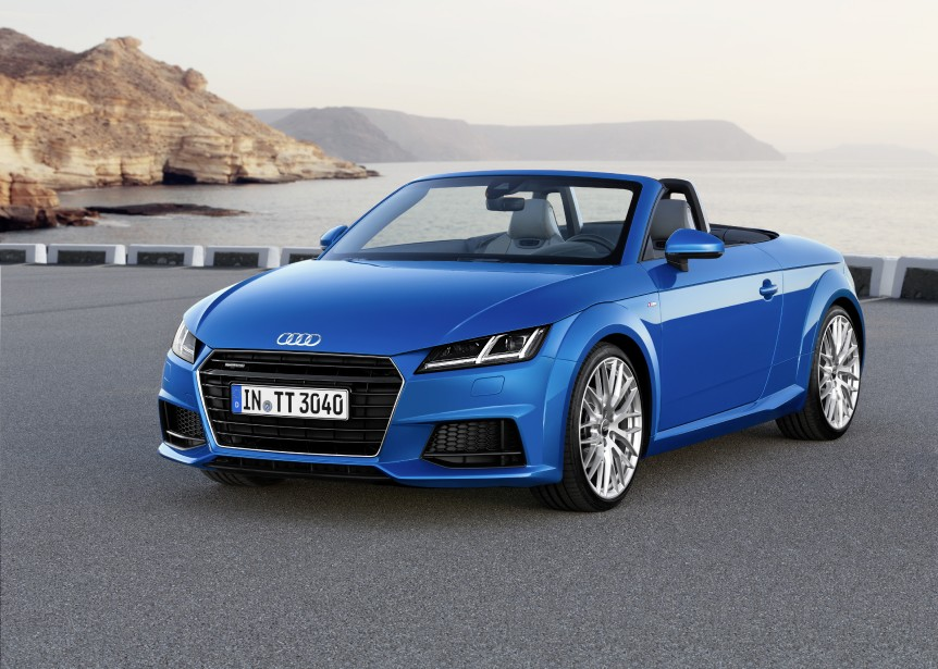 Audi TT — À partir de 51 600 $ — Dès le printemps prochain, une nouvelle Audi TT arrivera dans les concessions. Le styliste québécois Dany Garant a contribué à cette refonte de ce modèle. (Photo Audi)