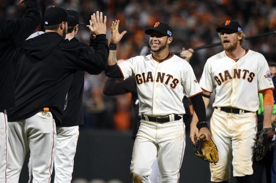 Les Giants sont en quête d'un troisième titre... (Photo Kyle Terada, USA Today Sports)