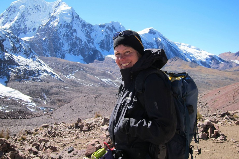 Sylvie Marois était guide pour Terra Ultima. Elle... (PHOTO TIRÉE DE FACEBOOK)