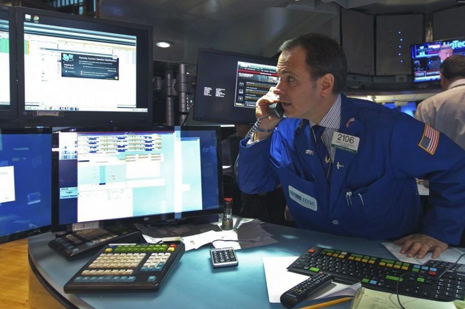 «Le marché essaie de se stabiliser, de déterminer... (Photo Richard Drew, archives AP)