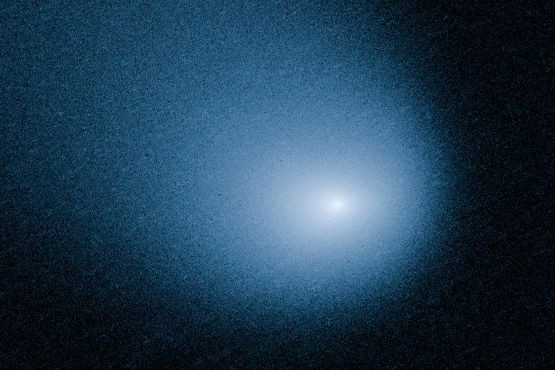 Image de la comète qui passera près de... (Photo NASA, ESA, and J.-Y. Li, AP)