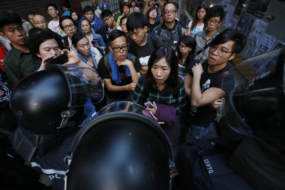Le fonctionnement de Hong Kong, un des centres... (Photo Wally Santana, AP)