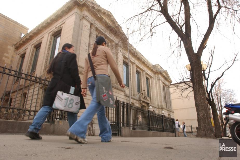 La bibliothèque Saint-Sulpice... (Photo: Martin Chamberland, archives La Presse)