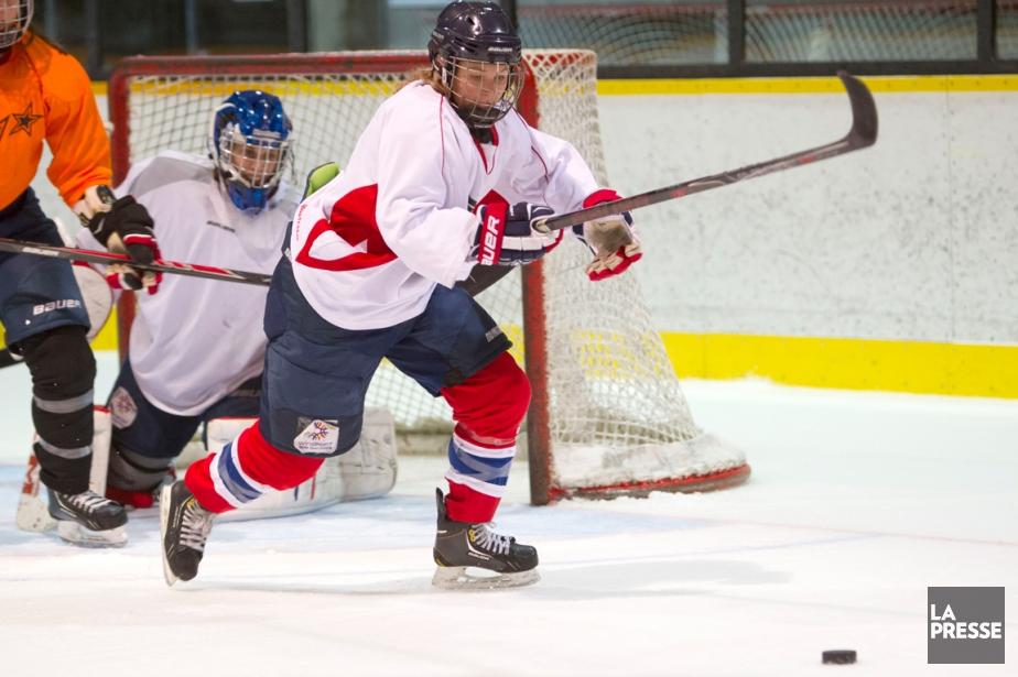 Anne-Sophie Bettez, joueuse par excellence du circuit la... (Photo Olivier Jean, La Presse)