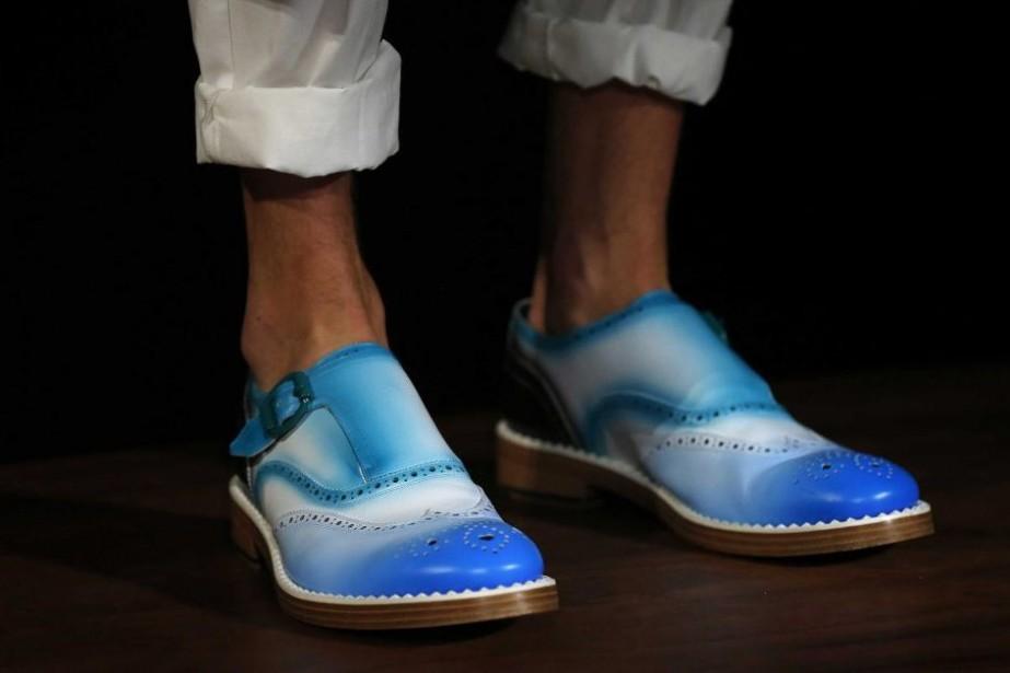 D'autres chausseurs de luxe, comme Christian Louboutin et... (PHOTO SUZANNE PLUNKETT, REUTERS)
