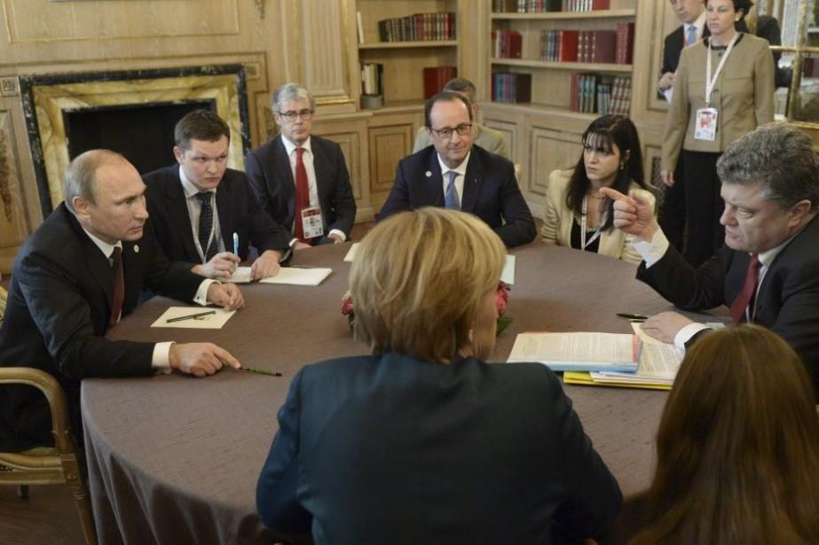 Un accord sur le gaz n'a certes pas... (PHOTO RIA Novosti, REUTERS)