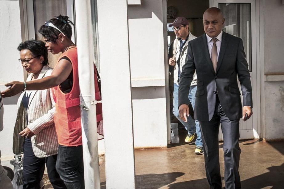 Marc Ravalomanana, en exil en Afrique du Sud... (PHOTO BILAL TARABEY)