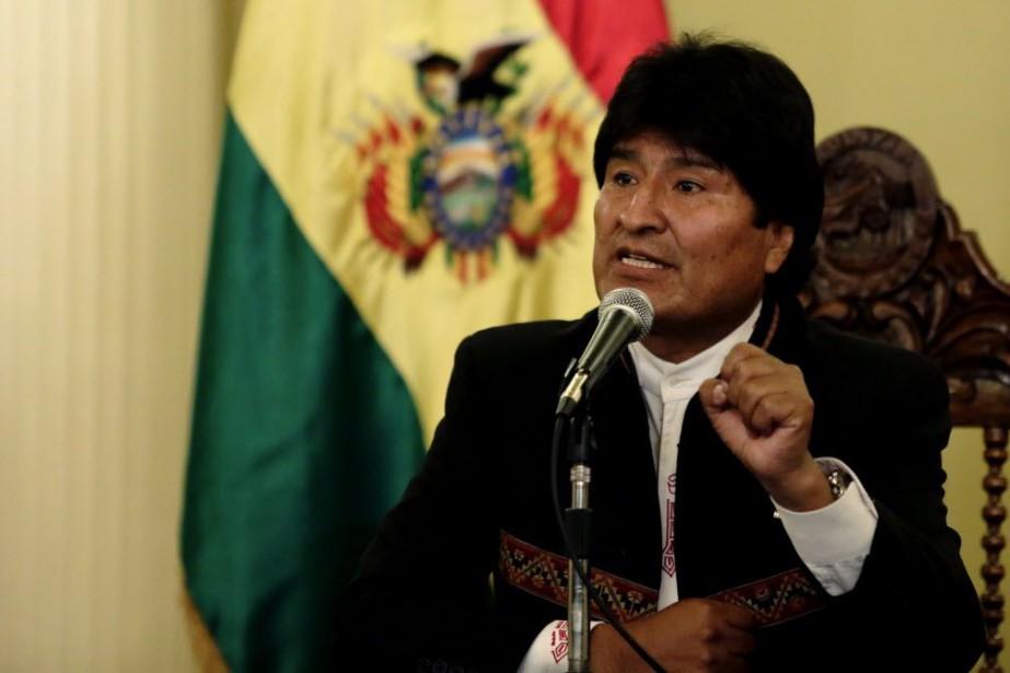 Le président bolivien Evo Morales a été réélu.... (PHOTO DAVID MERCADO, REUTERS)