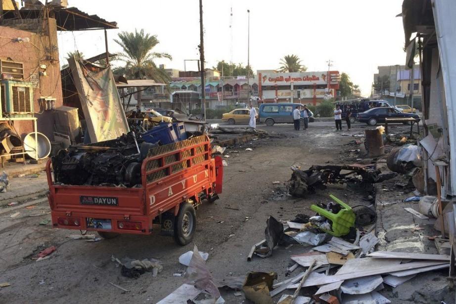 Une voiture piégée a explosé le 18 octobre... (PHOTO KHALID MOHAMMED, AP)