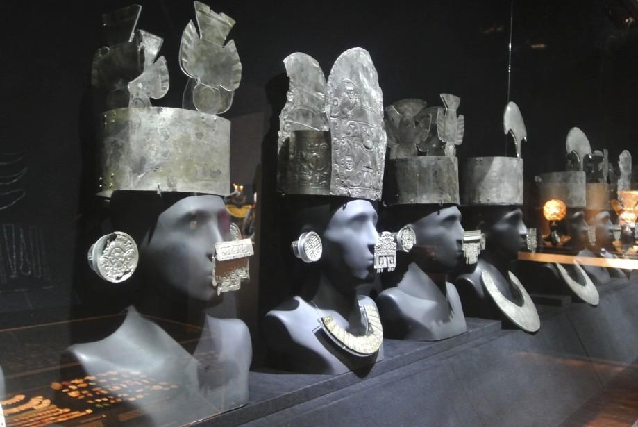 Le Museo Larco présente des trésors historiques de cultures paracas, lima, wari, moche, inca et autres. (Photo David Riendeau, collaboration spéciale)