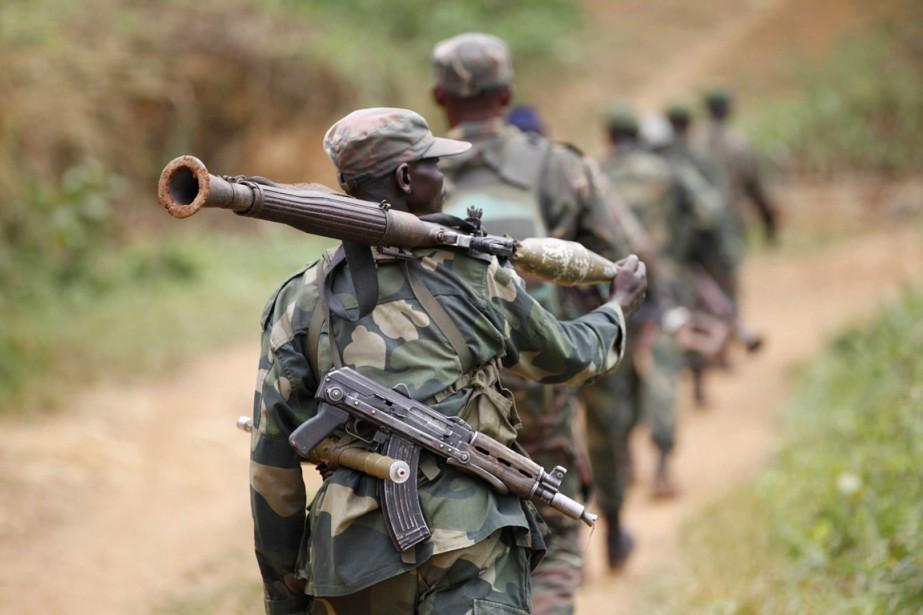 Depuis janvier, l'armée congolaise et la Monusco ont... (PHOTO KENNY KATOMBE, ARCHIVES REUTERS)