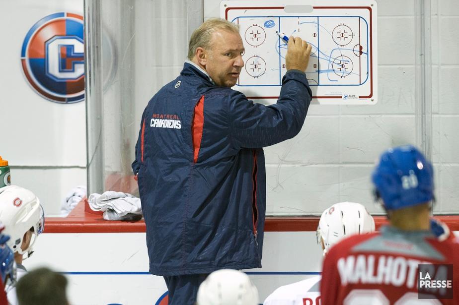 Selon l'entraîneur Michel Therrien, le Canadien doit peaufiner... (PHOTO ROBERT SKINNER, LA PRESSE)