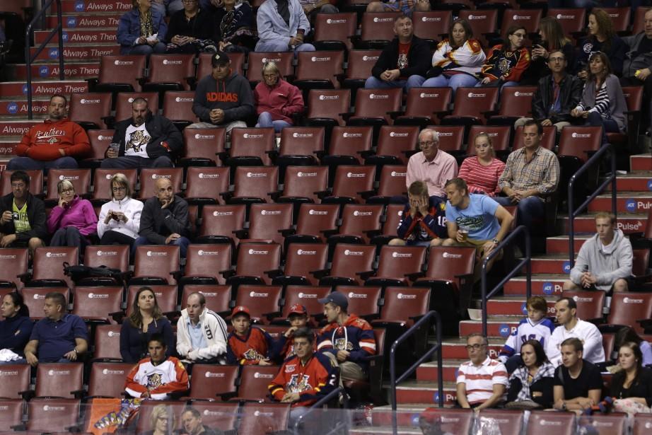 Les Panthers ont établi un nouveau record d'impopularité... (Photo Wilfredo Lee, AP)