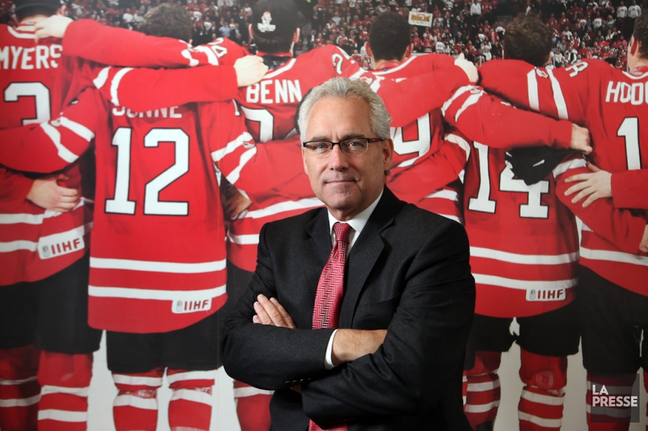 Le nouveau président de Hockey Canada Tom Renney... (Photo Martin Chamberland, La Presse)