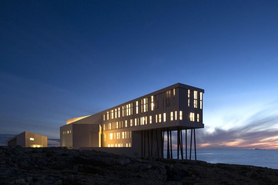 L'hôtel Fogo Island Inn porte la griffe d'un Terre-Neuvien d'origine et étoile montante de l'architecture, Todd Saunders. (Photo fournie par Fogo Island Inn)