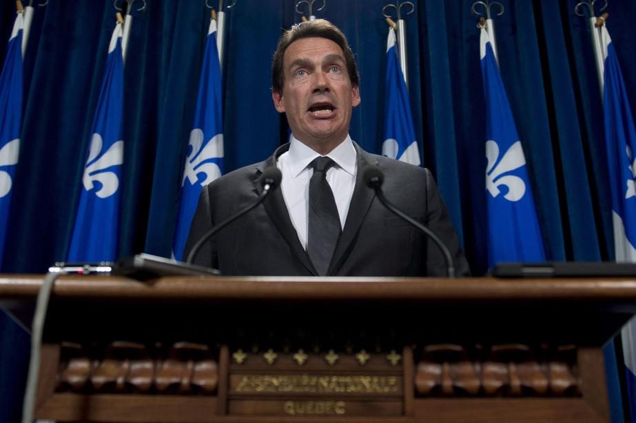 Le député du PQ Pierre Karl Péladeause défend... (Photo Jacques Boissinot, archives La Presse Canadienne)