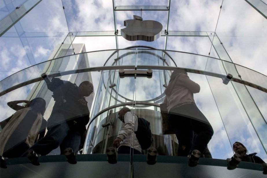 Appleassure que «ces attaques ne compromettent pas nos... (PHOTO BRENDAN MCDERMID, REUTERS)