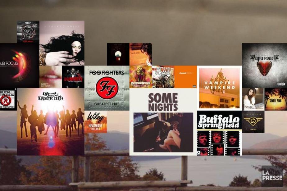 Spotify... (Photo archives La Presse)