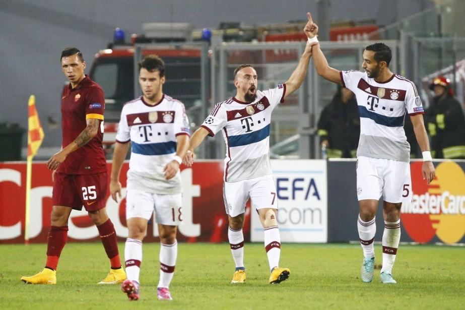 La Ligue des Champions a repris ses activités mardi en offrant... (Photo Reuters)