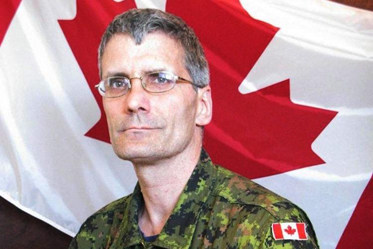 L'adjudant Patrice Vincent était militaire depuis 1986.... (PHOTO FOURNIE PAR LES FORCES ARMÉES CANADIENNES)