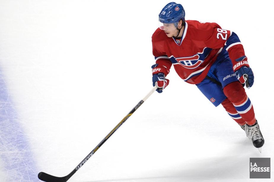 Nathan Beaulieu apporte un élément de vitesse à... (Photo Bernard Brault, archives La Presse)