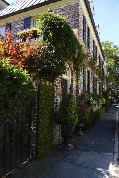 Maison d'Atlantic Street. (Photo Fabienne Couturier, La Presse)