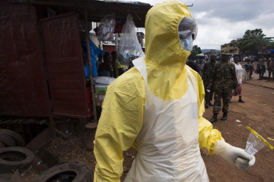 Partie de Guinée, l'épidémie qui a fait près... (PHOTO Christopher Black, REUTERS)