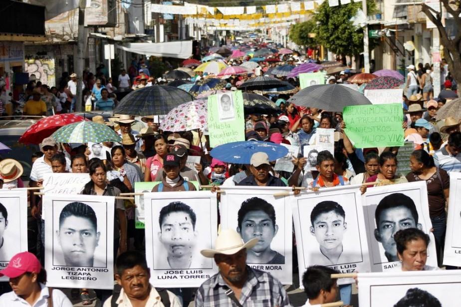 Des manifestations se sont déroulées mercredi dans plusieurs... (PHOTO EDUARDO GUERRERO, AFP)