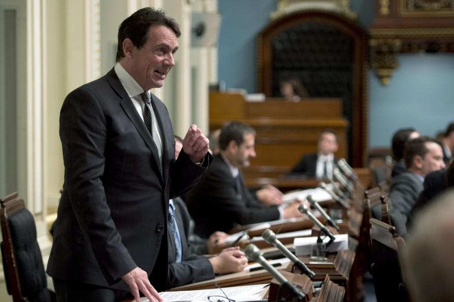 Le député du PQ, Pierre Karl Péladeau... (Photo Jacques Boissinot, La Presse Canadienne)