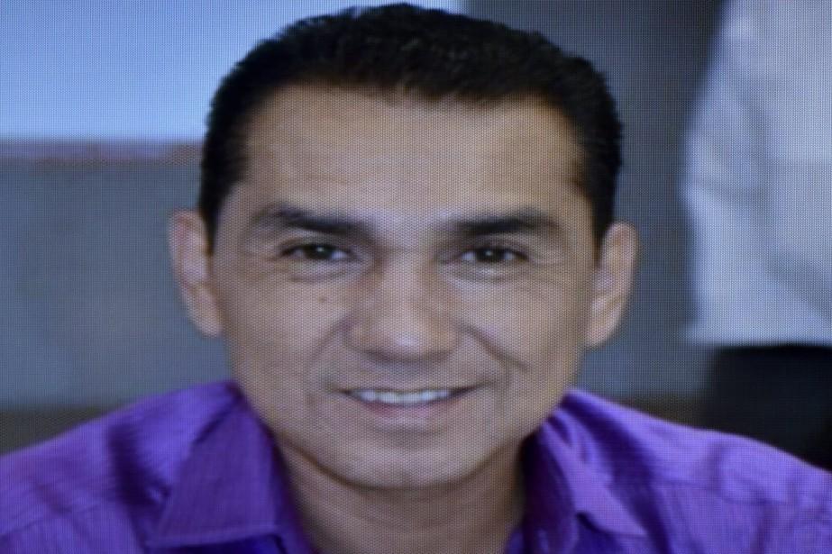 José luis Abarca, maire d'Iguala... (PHOTO YURI CORTEZ, ARCHIVES AFP)