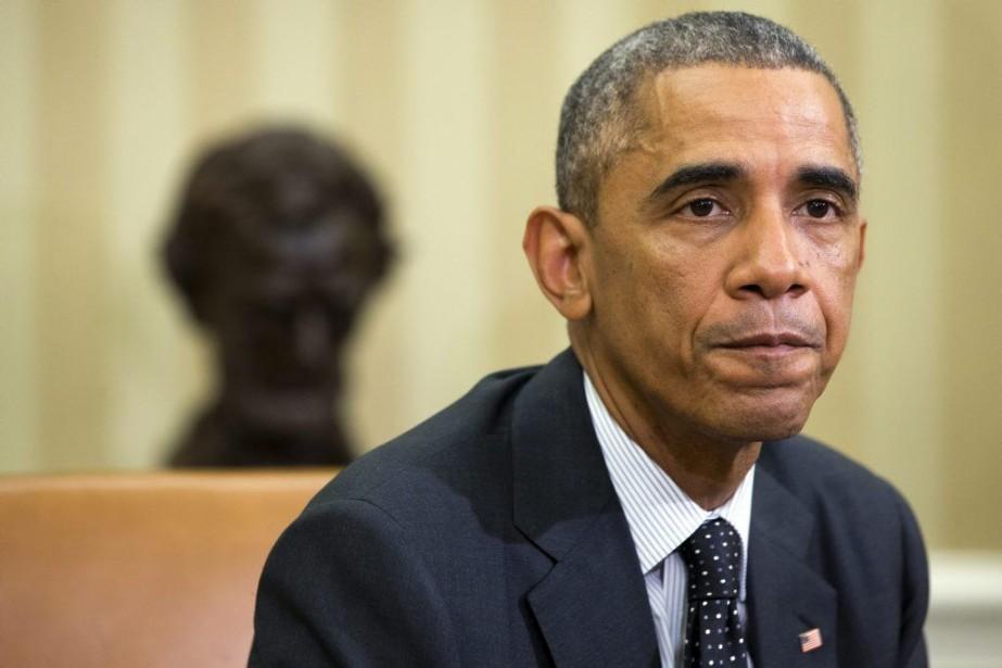 BarackObama a déclaré que «tout le monde était... (Photo Jacquelyn Martin, AP)