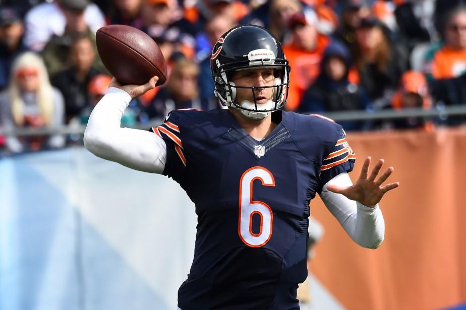 Le quart Jay Cutler, des Bears de Chicago... (Photo Mike Dinovo, USA Today Sports)