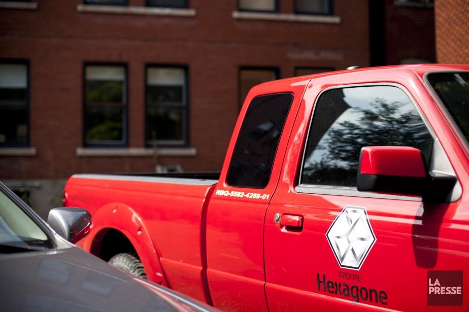 Des huissiers chez Groupe Hexagone - LaPresse.ca