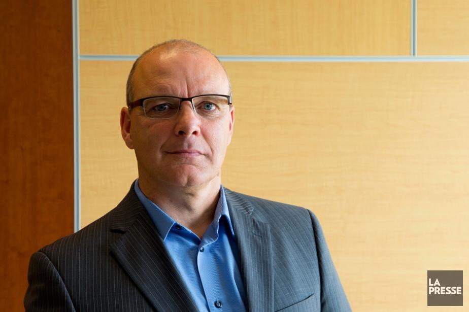 Éric Lebel, conseiller en redressement financier chez Raymond... (PHOTO ALAIN ROBERGE, LA PRESSE)