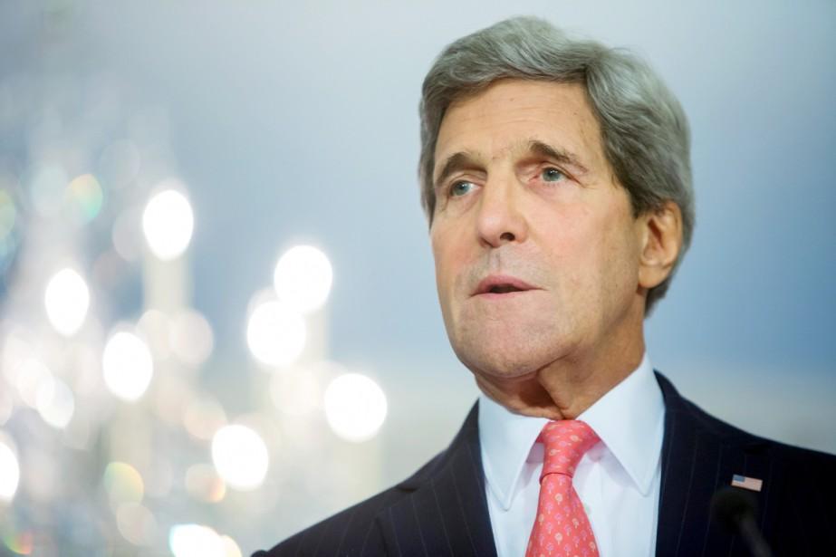 Le chef de la diplomatie américaine a indiqué... (PHOTO JONATHAN ERNST, REUTERS)