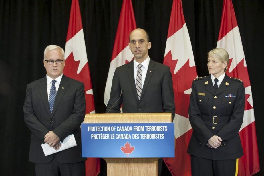 Steven Blaneydevait présenter ce projet à 14h mercredi,... (PHOTO FOURNIE PAR SÉCURITÉ PUBLIQUE CANADA)