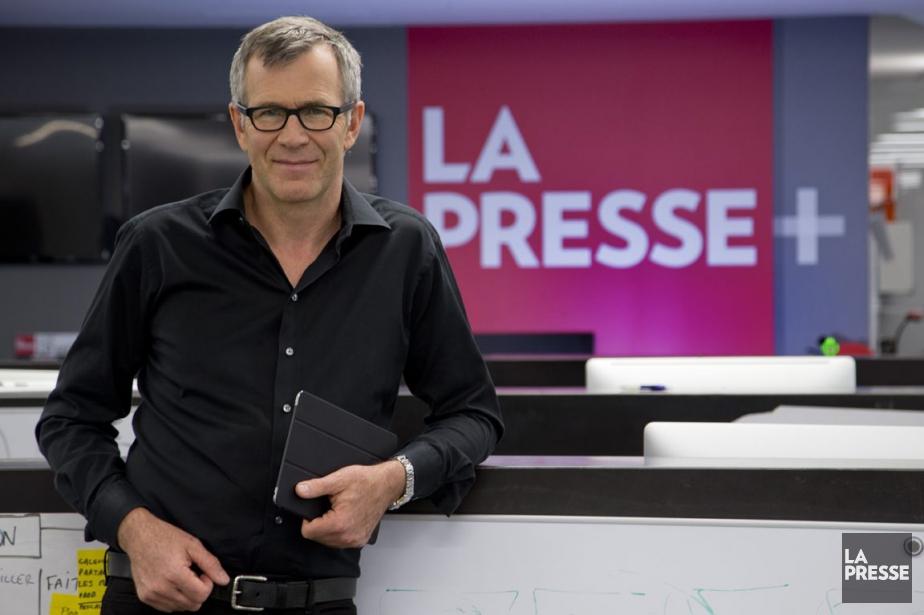 Guy Crevier, président et éditeur deLa Presse.... (Photo David Boily, La Presse)