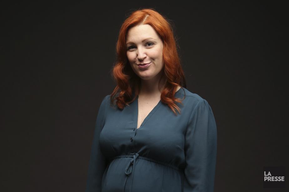 Geneviève Pettersen travaille à son deuxième roman, à... (Photo Martin Chamberland, La Presse)