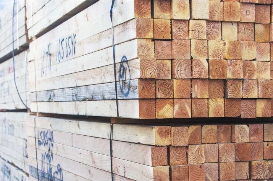 Sur les seuls bois bruts, le solde atteint... (Photo Digital/Thinkstock)