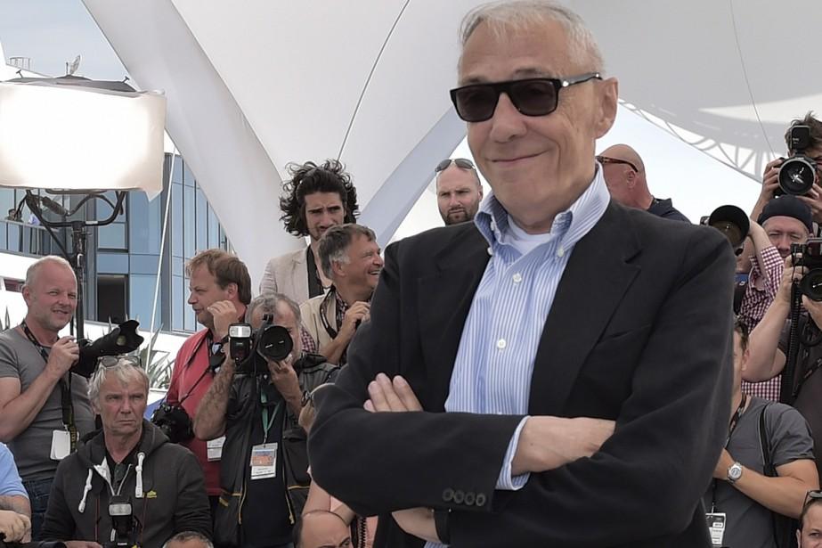 André Téchiné au Festival de Cannes, en 2014... (PHOTO ARCHIVES AFP)